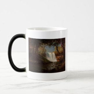 Albert Bierstadt Painting Forest Waterfall Destiny Magic Mug