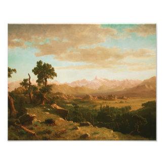 Albert Bierstadt - país de Wind River Fotografía