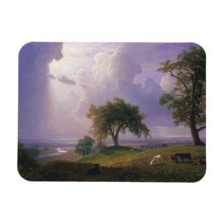 Albert Bierstadt - primavera de California Iman De Vinilo