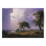 Albert Bierstadt - primavera de California Tarjeta De Felicitación