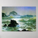 Albert Bierstadt-Seal Rock 2 Poster