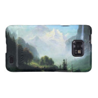 Albert Bierstadt staubbach falls near... Samsung Galaxy S2 Cases