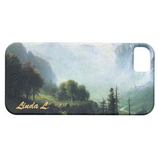 Albert Bierstadt staubbach falls near... iPhone SE/5/5s Case