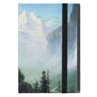 Albert Bierstadt staubbach falls near lauterbrunne Cases For iPad Mini