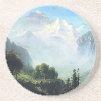 Albert Bierstadt staubbach falls near lauterbrunne Coaster