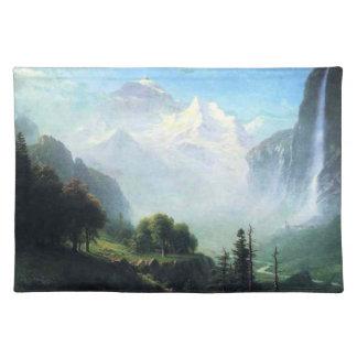 Albert Bierstadt staubbach falls near lauterbrunne Placemat