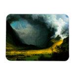 Albert Bierstadt Storm in The Mountains Magnet