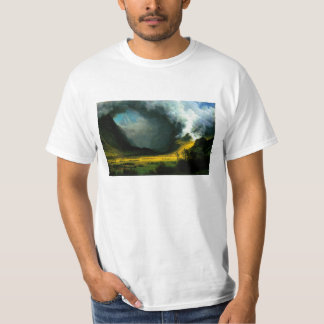 Albert Bierstadt Storm in The Mountains T-shirt