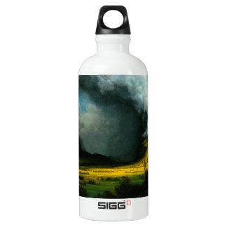 Albert Bierstadt Storm in The Mountains Water Bottle