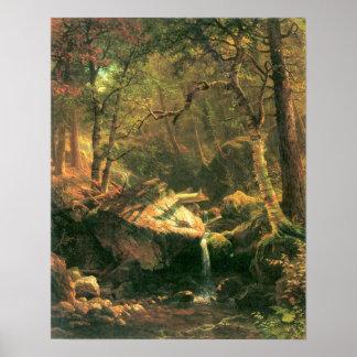 Albert Bierstadt-The Mountain Poster