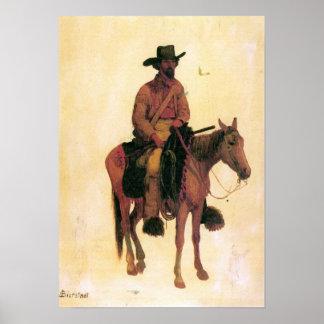 Albert Bierstadt-Trapper Poster