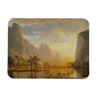 Albert Bierstadt - valle del Yosemite Imanes Rectangulares