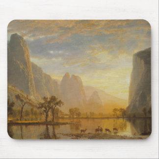 Albert Bierstadt - Valley of the Yosemite Mouse Pad