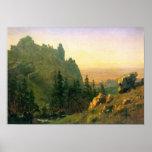 Albert Bierstadt-Wind River Country Poster