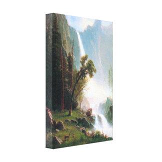 Albert Bierstadt - Yosemite Falls Canvas Prints