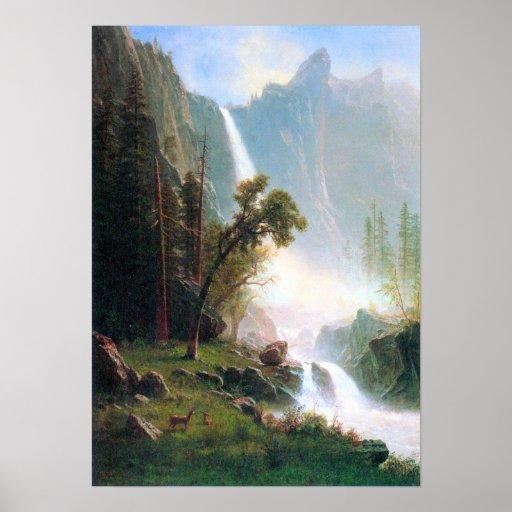 Albert Bierstadt-Yosemite Falls Poster
