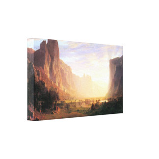 Albert Bierstadt - Yosemite Valley 3 Stretched Canvas Prints