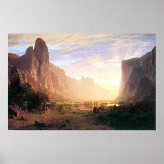 Albert Bierstadt-Yosemite Valley 3 Poster