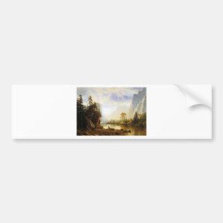 Albert Bierstadt Yosemite Valley Bumper Sticker