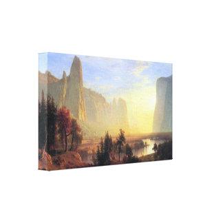 Albert Bierstadt - Yosemite Valley Canvas Print