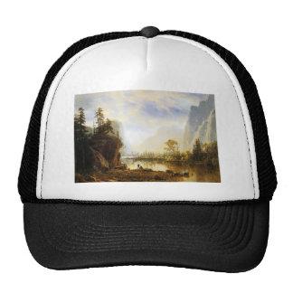 Albert Bierstadt Yosemite Valley Mesh Hat