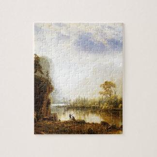 Albert Bierstadt Yosemite Valley Jigsaw Puzzle