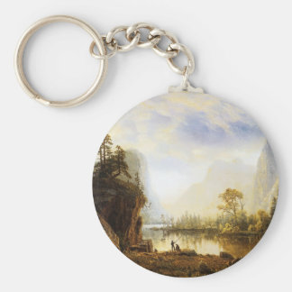Albert Bierstadt Yosemite Valley Keychain