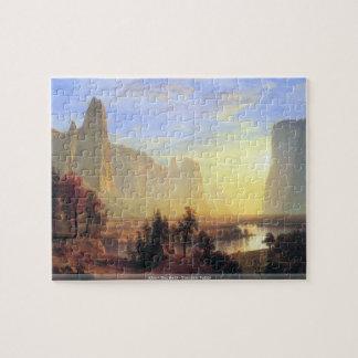Albert Bierstadt - Yosemite Valley puzzle