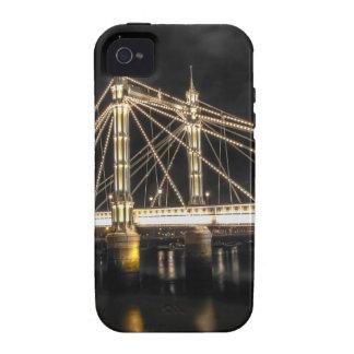 Albert Bridge crosses the River Thames, London iPhone 4 Cover