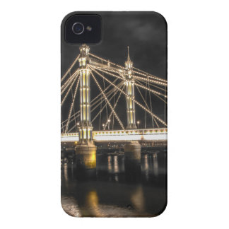 Albert Bridge crosses the River Thames, London Case-Mate iPhone 4 Cases