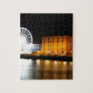 Albert dock Complex, Liverpool UK Jigsaw Puzzle