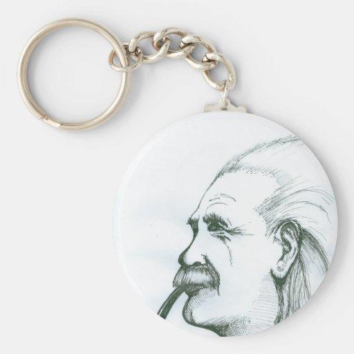 Albert Einstein.jpg Key Chains