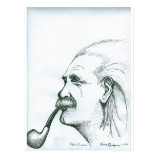 Albert Einstein.jpg Post Card
