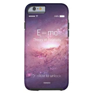 Albert Einstein Theory of Relativity Space Galaxy Tough iPhone 6 Case