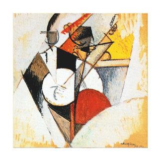 Albert Gleizes Jazz Composition Abstract Canvas