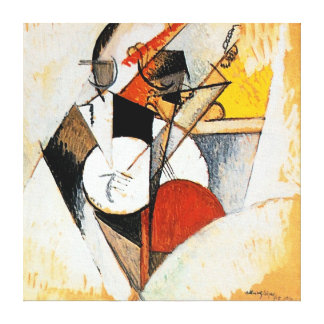 Albert Gleizes Jazz Composition Abstract Canvas Canvas Print