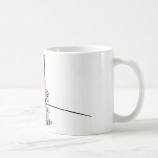 Albert kinda knew he should of left the shoe coffee mug