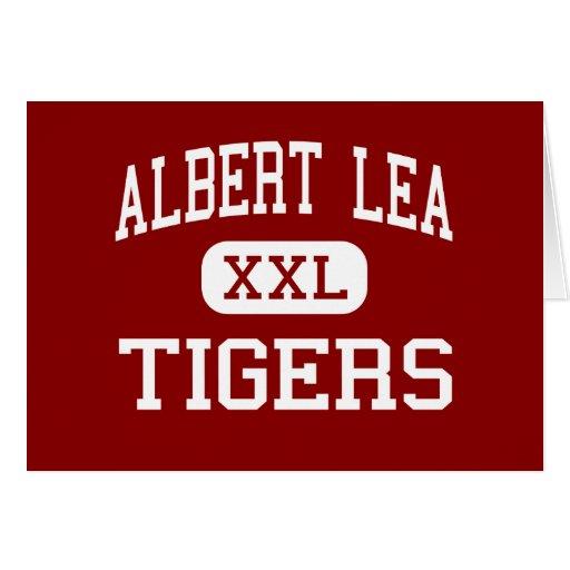 Albert Lea - Tigers - High - Albert Lea Minnesota Greeting Card