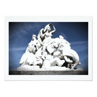 """Albert Memorial 5.5"""" X 7.5"""" Invitation Card"""