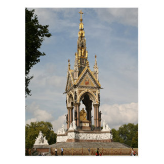 Albert Memorial, London Postcard