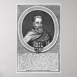 Albert of Brandenburg Poster