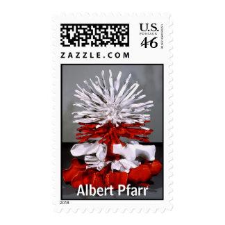 "Albert Pfarr ""Saturation, Solubility"" Postage Stamp"