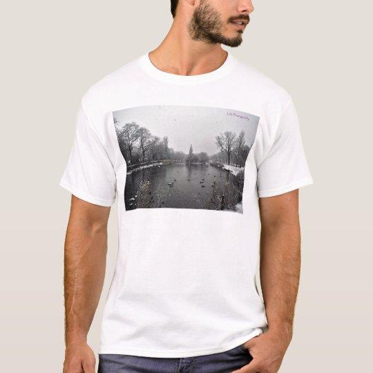 Albert Pond in the Snow T-Shirt