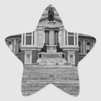 Albert real Pasillo Londres Pegatina En Forma De Estrella