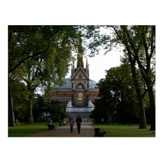 Albert real Pasillo y monumento del Príncipe Alber Postales