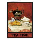 Albert Samuel Anker ~ Tea Time Card