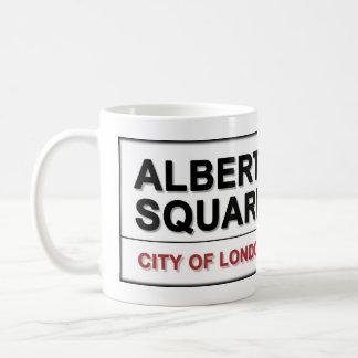 Albert Square London England Coffee Mug