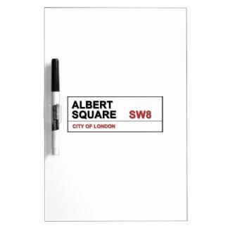 Albert Square London England Dry-Erase Board