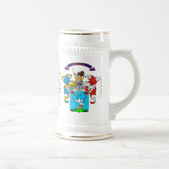 Albert, the Origin, Meaning and the Crest  Stein