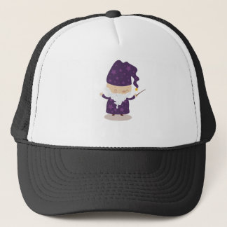 Albert the Wizard Trucker Hat
